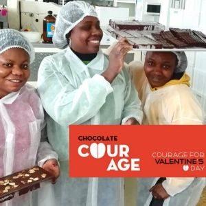Courage, cioccolato alle erbe